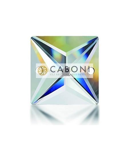 Pietra Cristallo Quadrata Crystal Aurora Boreale