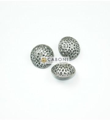 Bottone 2732 Argento Antico